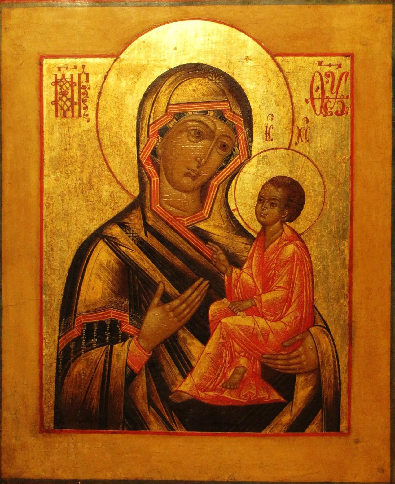 Тихвинская-икона-Божией-Матери